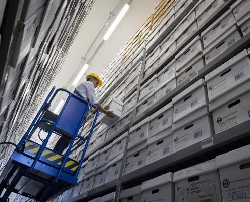 archiviazione documenti - custodia archivi cartaceii